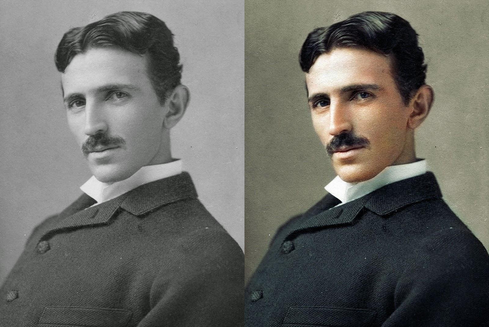 Nikola Tesla pics