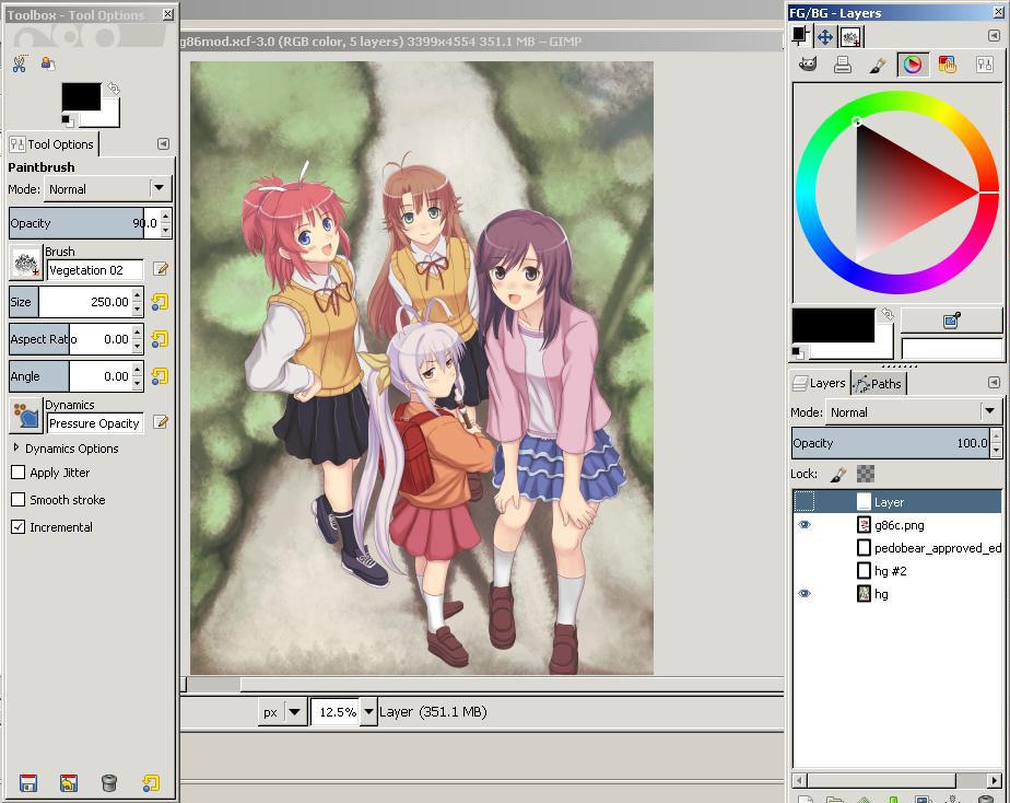Free Software Anime Dengan Krita