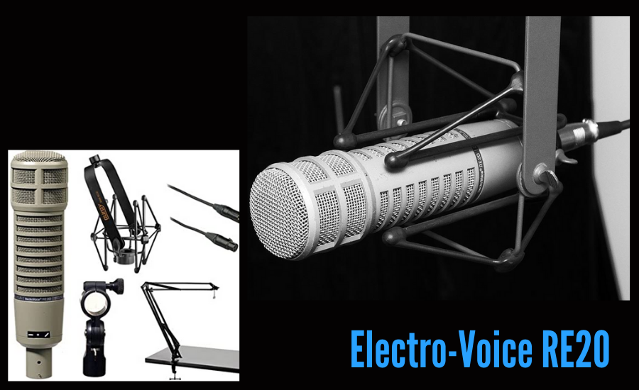 Cardioid Dynamic Microphone - how to make a podcast studio