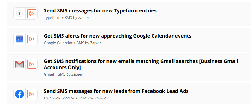 Zapier trips and tricks: Recieve an SMS reminder for important events