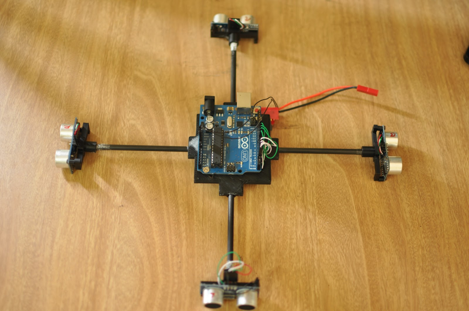 Low cost obstacle detection system for diy drones