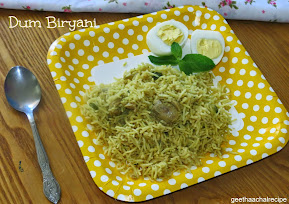 Simple Dum Biryani