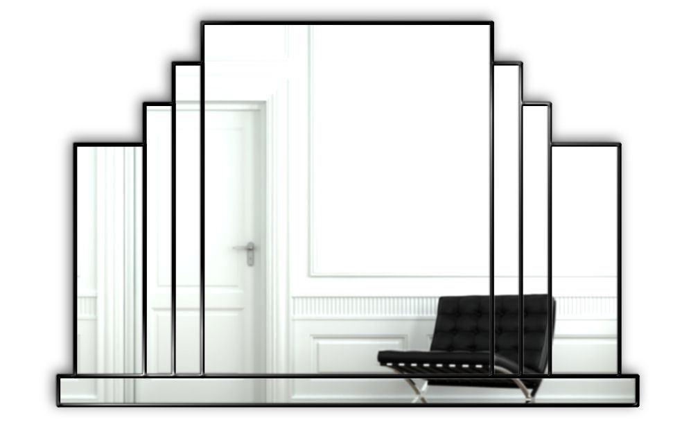 Mayfair art deco wall mirror