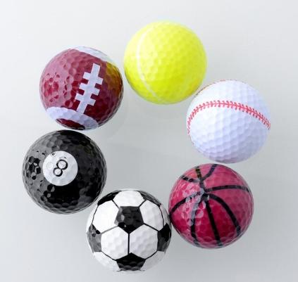 6 нестандартни топки за голф