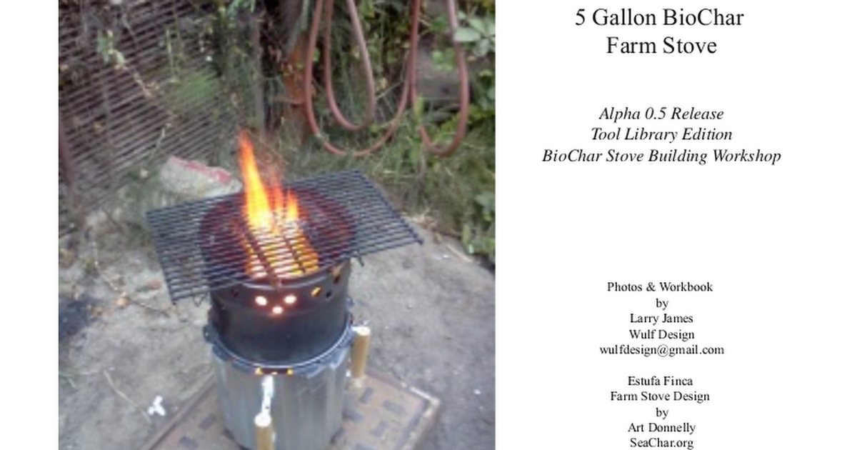 heater for cooking tlud stoves cook while making biocharcharcoal off topic drive