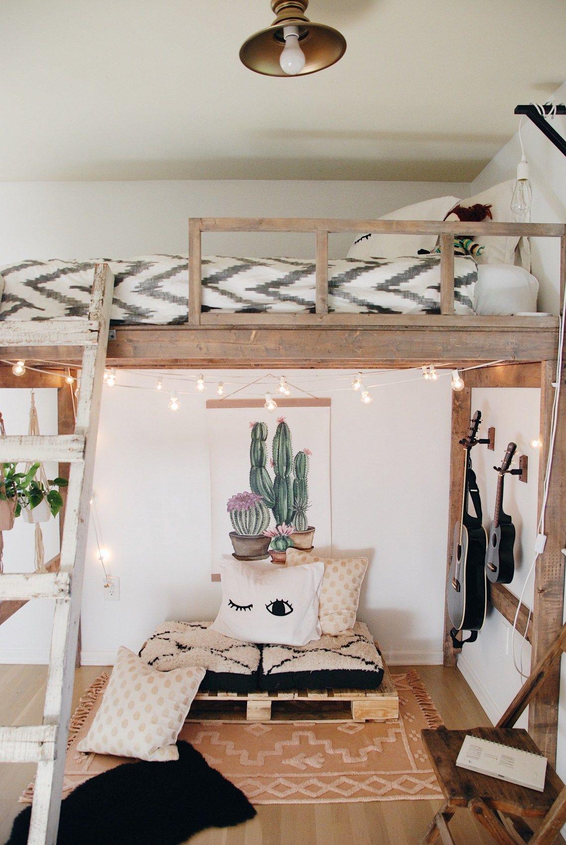 Functional Loft Bedroom
