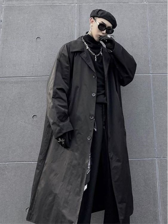 man in a techwear outfit