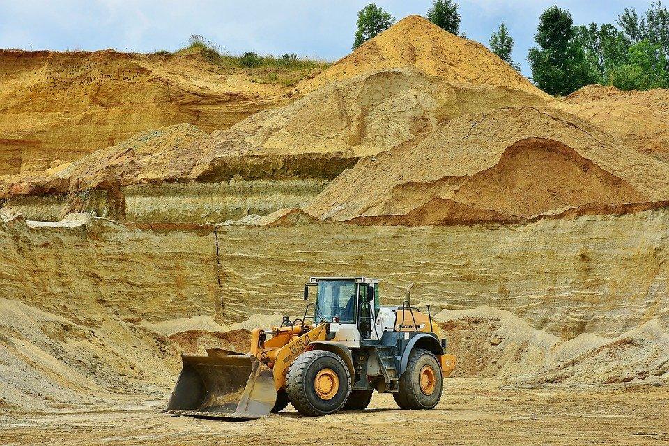 Mineração A Céu Aberto, Areia, Matérias Primas, Remoção