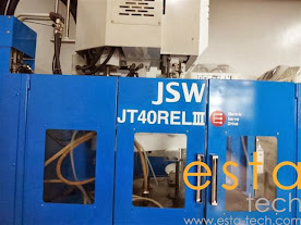JSW JT40RELIII-20V (2006) - All Electric Rotary Vertical Plastic Injection Moulding Machine