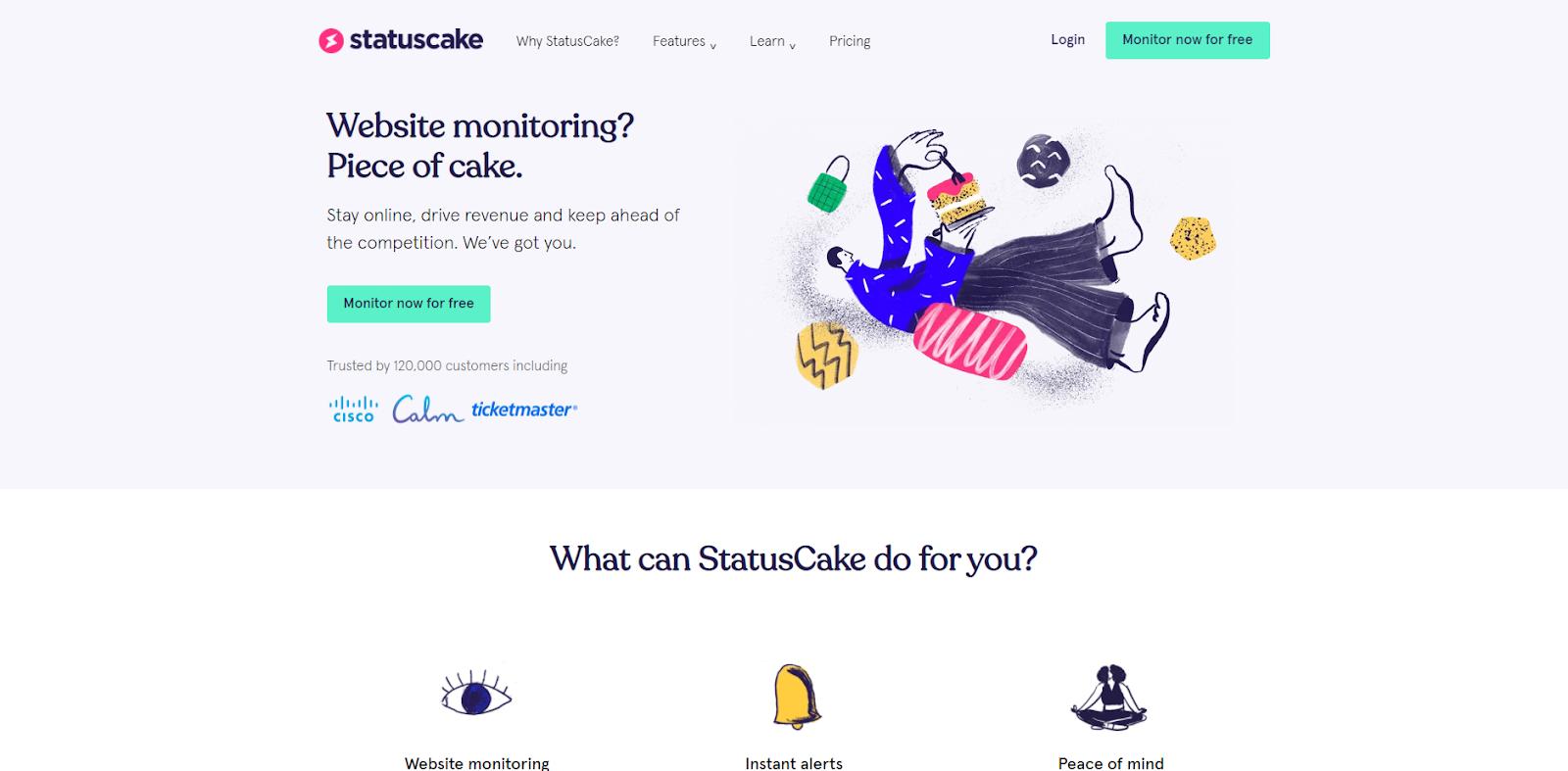 StatusCake Network Monitoring Tool
