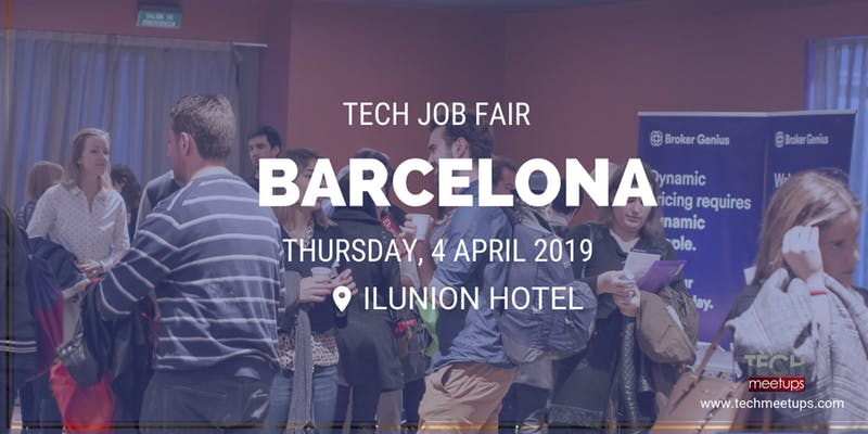 barcelona tech job fair