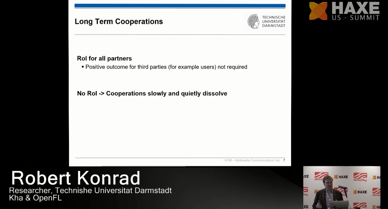 Long term cooperations
