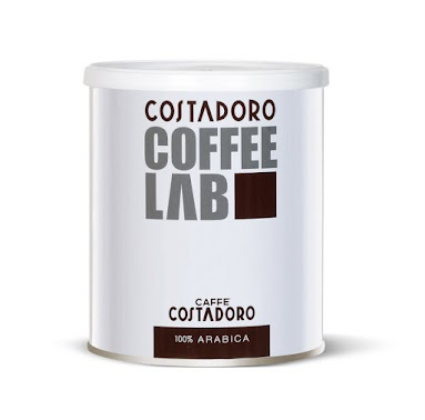 100%ARABICA 舒服順口,更為清香,帶含有淡淡的花香氣,號稱義大利COSTADORO原廠最高級的咖啡,內容物重量250g