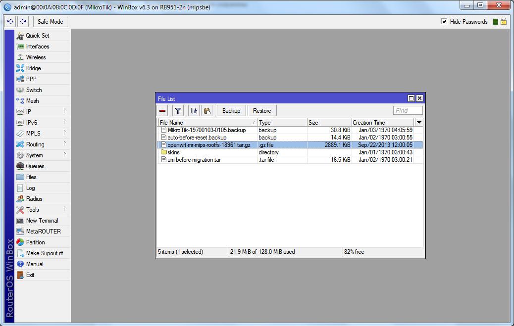 Mikrotik RouterOS: виртуальный маршрутизатор - MetaRouter