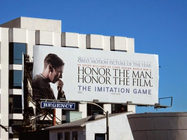 Image result for Oscars for your consideration billboard honor the man""