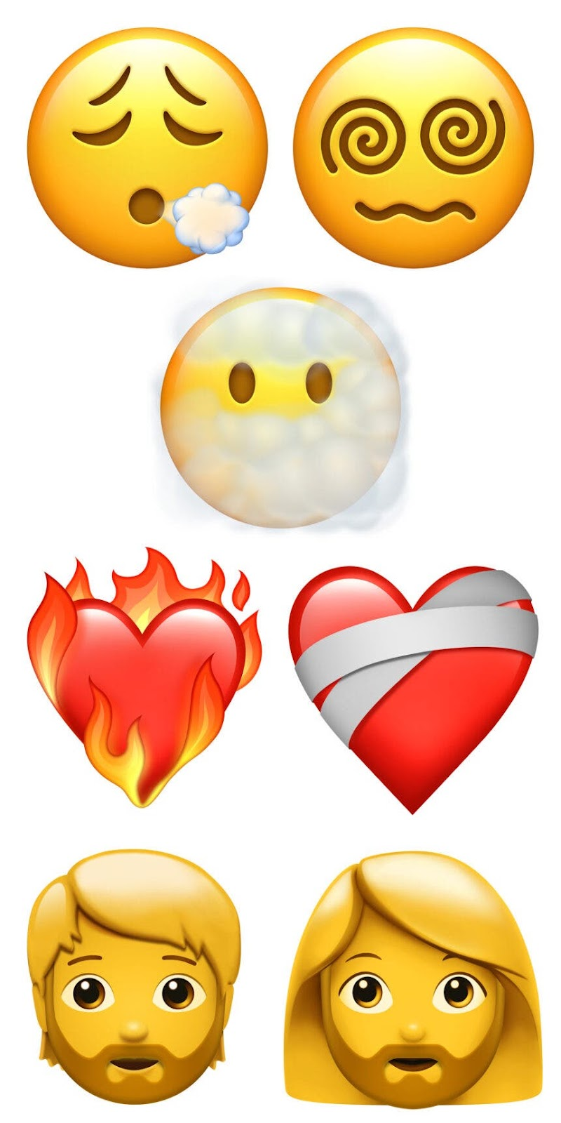 Apple emojis nuevos 2021 iOS 14.5