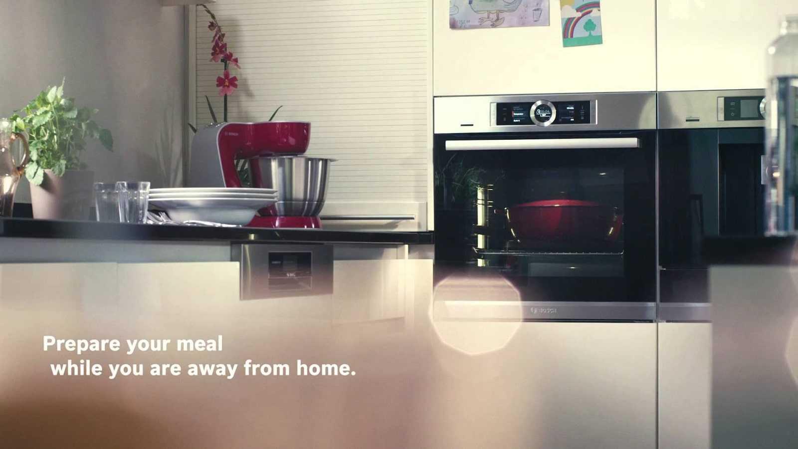Lò nướng âm tủ Bosch có thiết kế sang trọng