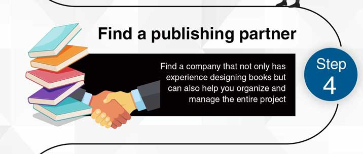 Step 4: Find a publishing partner.