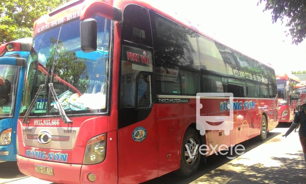 Xe Hồng Sơn từ Sài Gòn đi Phú Yên