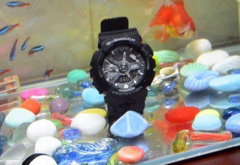 Giới thiệu Đồng hồ casio g-shock ga-110-1b