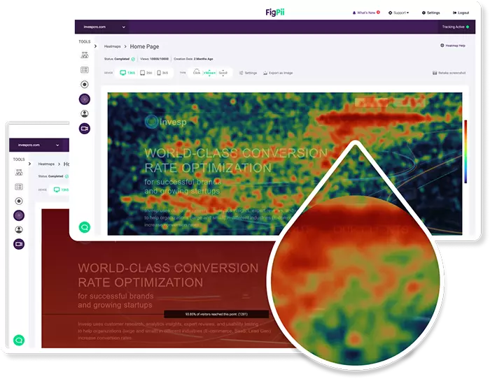 FigPii Heat Mapping Tool