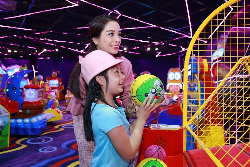 Khu vui chơi tại Aeon Mall Long Biên