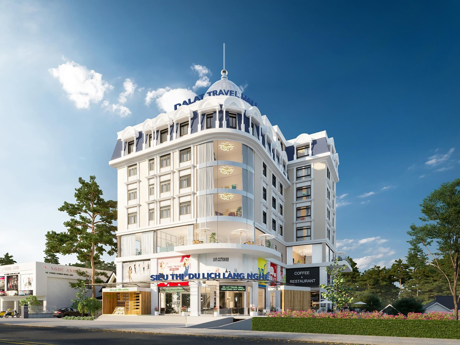 Trung tâm Thương mại Đà Lạt Travel Mall