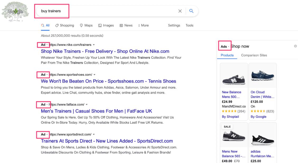 buy keyword search query