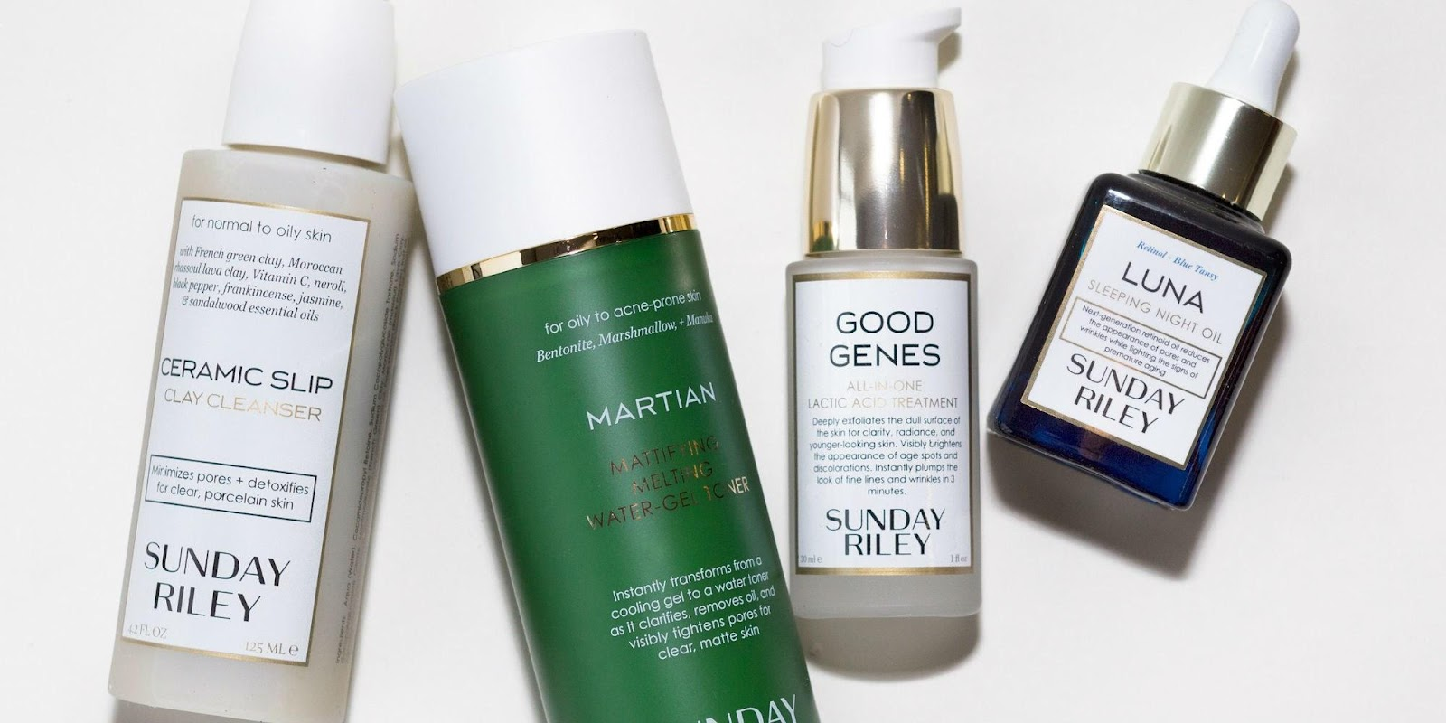 Sunday Riley Sets Skin Care Bar High With Three Piece Holiday Gift Set For Superb Exfoliation