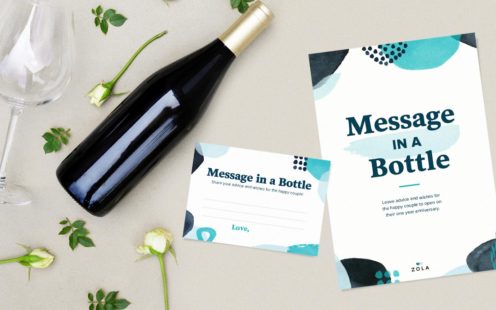 Message in a bottle wedding game free download