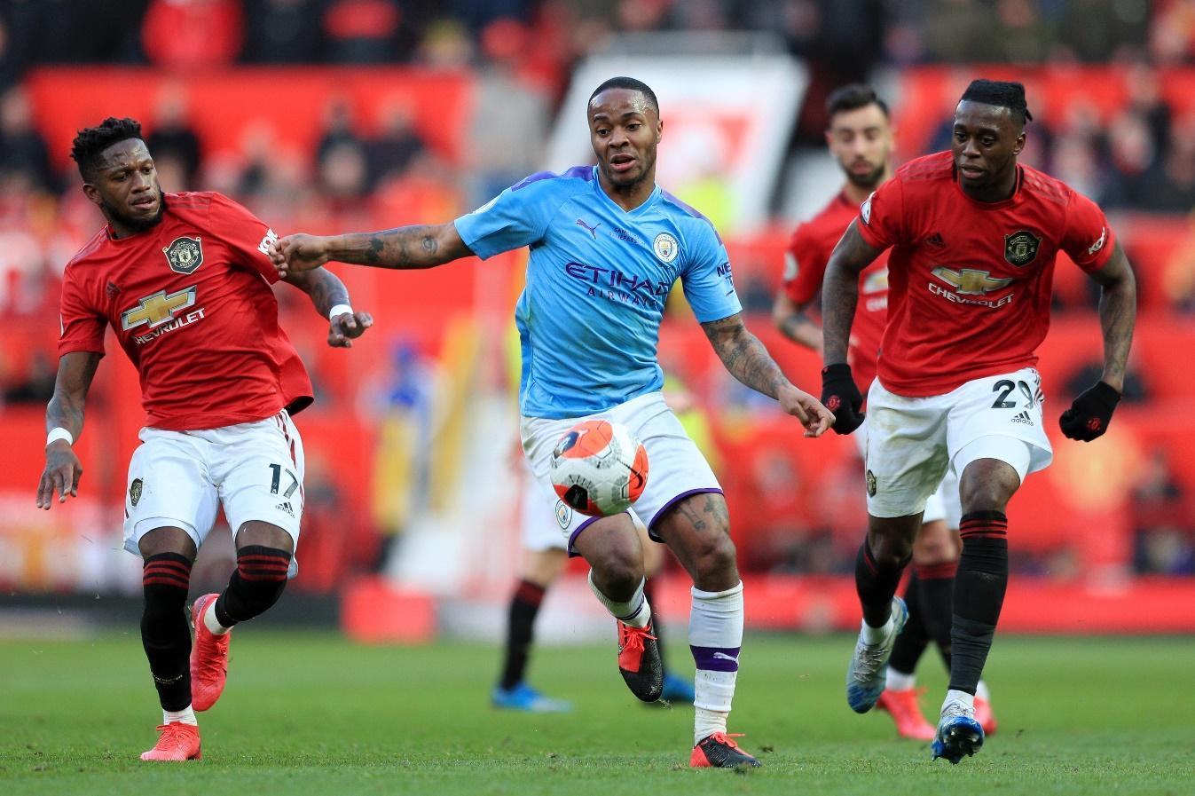 Man Utd từng đánh bại Man City 2-0 ở trận đấu lượt về mùa trước