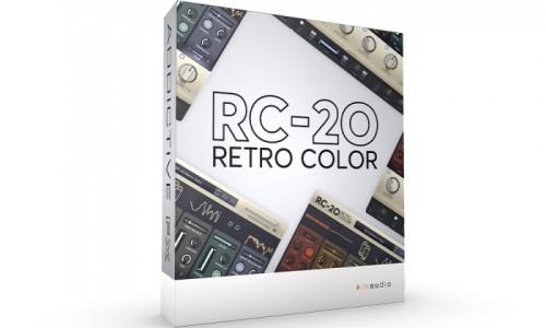 XLN Audio RC-20 Retro Color 엑스엘엔오디오 플러그인 레트로 컬러