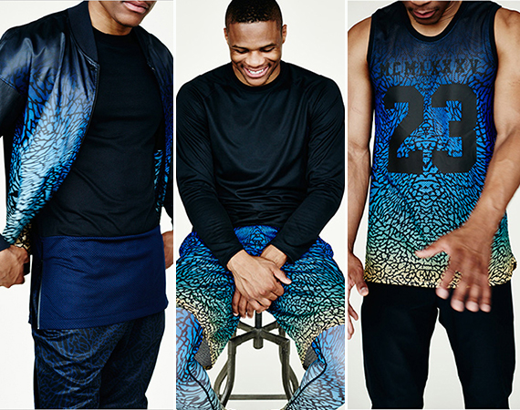 Russell Westbrook barneys New York Collaboration