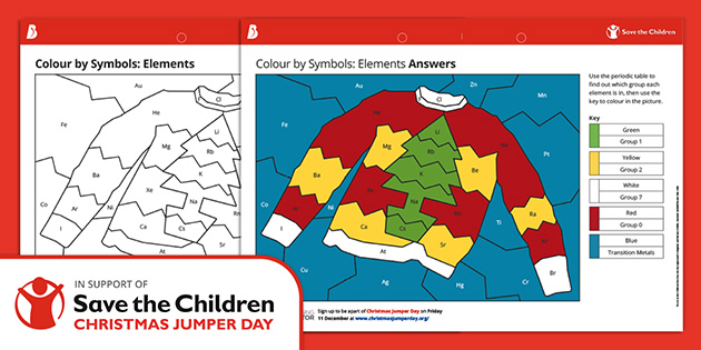 Christmas Resources KS3: Christmas Colour by Symbols
