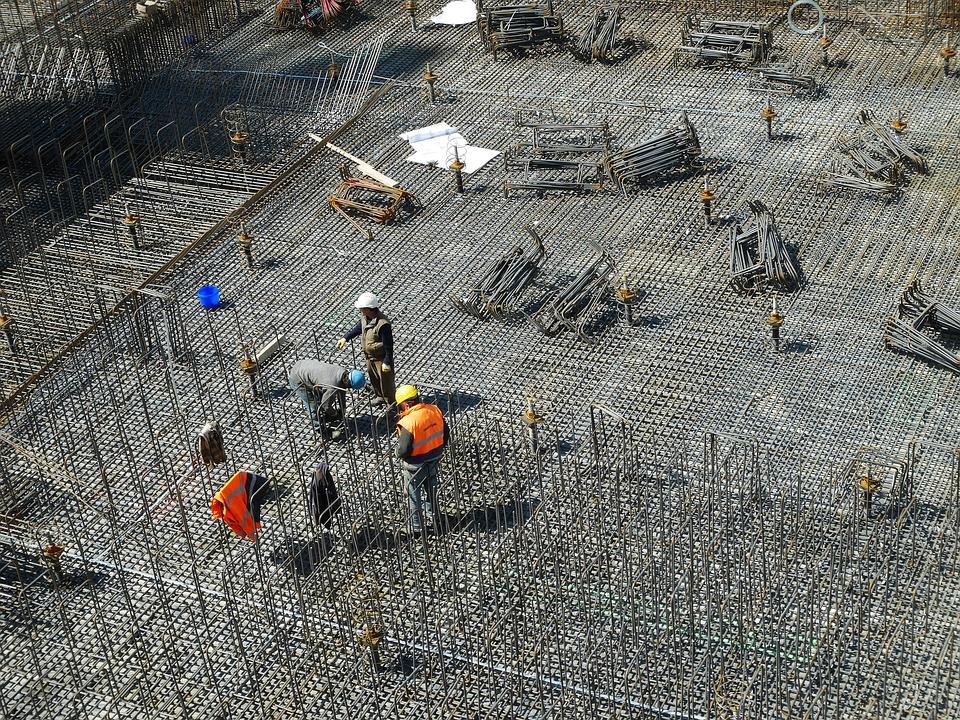 Construction Site, Construction Workers, Building