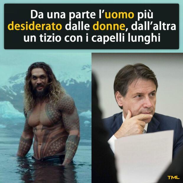gradimento di Giuseppe Conte meme