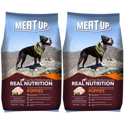 Meat Up Puppy Dog Food best dog foods in India