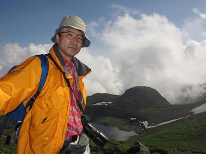 鳥海山にて2013年8月12日撮影 (Photographed on 12 Aug. 2013  Chokai volcano)