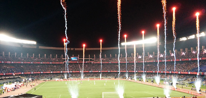Salt Lake Stadium in the Indian Superleague | Image courtesy of Wikipedia