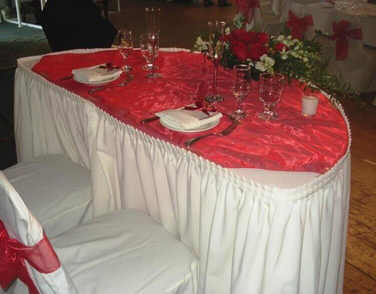 ablecloth for wedding chairs