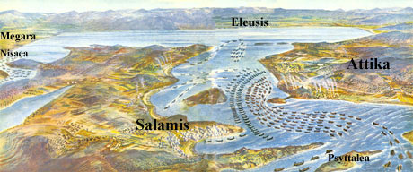 Great Navel Battle of Salamis