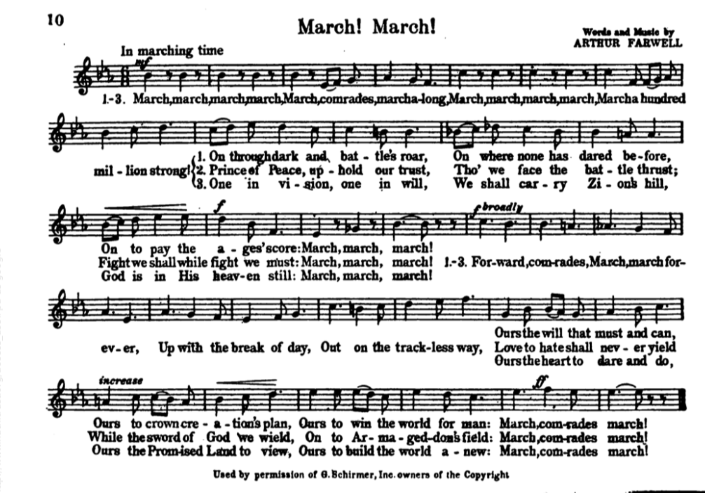 "The Annotated Army Song Book"" - World War I Centennial"