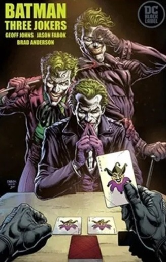Cover of Batman: Three Jokers, by Jason Fabok
