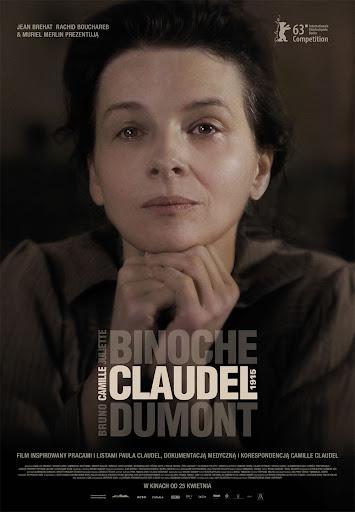 Polski plakat filmu 'Camille Claudel 1915'