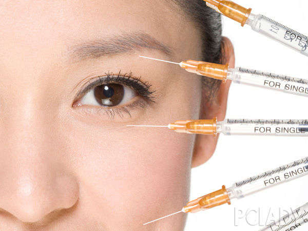 Which brand of face-lift pin force strong balance PK Botox
