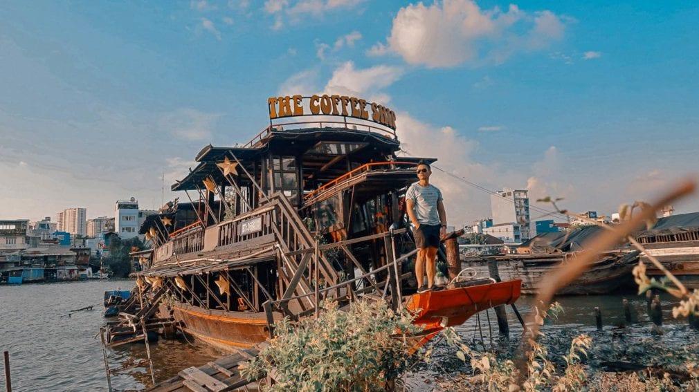 Sơn hiệu ứng Waldo-Quán The Coffee Ship