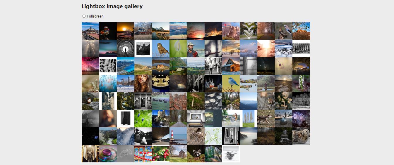 gallery plugin