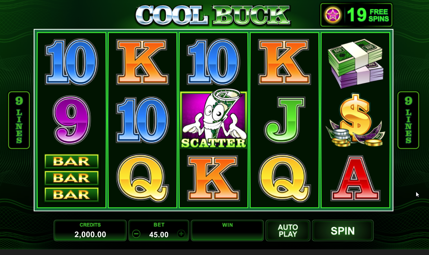 Cool Buck 5 Slots Game Review