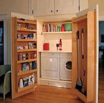armario lavanderia completo y compacto