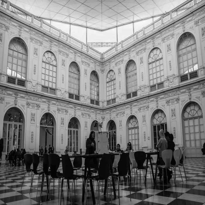 Interior del Museo de Arte de Lima